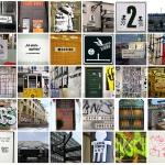 Urban elements: typography | šriftai ir architektūra