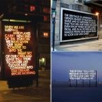 Urban texts: Robert Montgomery
