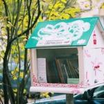 Little Free Library in Vilnius | Bibliotekelė Antakalnyje