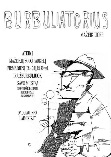 burbuliatorius mazeikiai poster