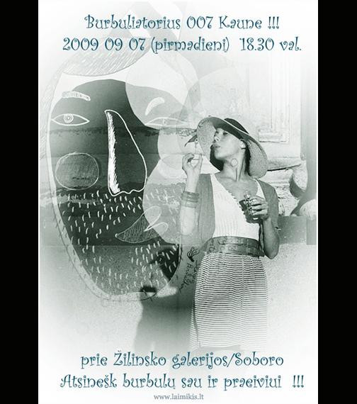 burbuliatorius-o7-Kaunas-poster-by-vejai