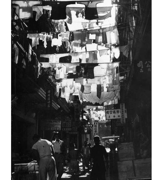 laundry-Hong-Kong-by Carl Mydans